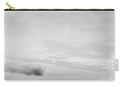 Carry-all Pouch featuring the photograph Navarre Bridge Monochrome by Shelby Young