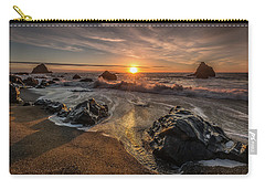 Navarro Beach Seascape Carry-all Pouch