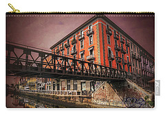 Naviglio Grande Milan Italy Carry-all Pouch by Carol Japp