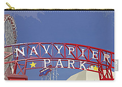 Navy Pier Carry-all Pouch by Mary Machare