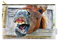 Carry-all Pouch featuring the photograph Nay Sayer by Aaron Berg