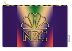 N B C Logo - Chuck Staley Carry-all Pouch by Chuck Staley