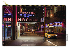 Nbc Studios And Cab  Carry-all Pouch