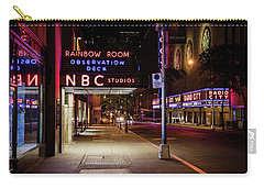 Nbc Studios Nyc  Carry-all Pouch