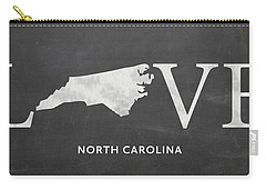 Nc Love Carry-all Pouch by Nancy Ingersoll