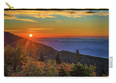 Nc Mountain Sunrise Blue Ridge Mountains Carry-all Pouch