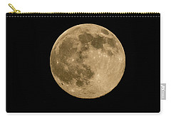 Near Full Moon, Strawberry Moon Carry-all Pouch