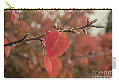 Carry-all Pouch featuring the photograph Nearing The End by Elaine Teague