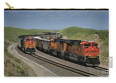 Nebraska Coal Trains Carry-all Pouch