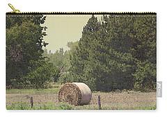 Nebraska Farm Life - Hay Bail Carry-all Pouch