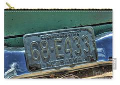 Nebraska Plate Carry-all Pouch
