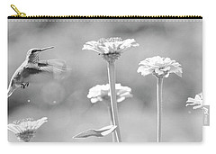 Nectar Black And White Carry-all Pouch by Steve McKinzie