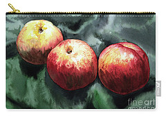 Carry-all Pouch featuring the painting Nectarines by Joey Agbayani