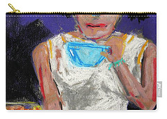 Carry-all Pouch featuring the painting Need Coffee by John Williams