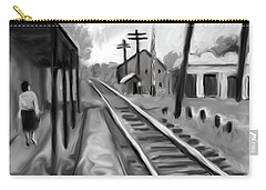 Needham Train Station 1959 Carry-all Pouch
