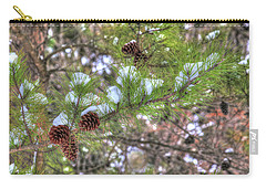 Needles And Cones Carry-all Pouch