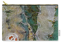Needles In The Desert Carry-all Pouch by Kathie Chicoine