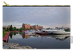 Carry-all Pouch featuring the photograph Neenah Harbor by Joel Witmeyer
