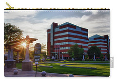 Carry-all Pouch featuring the photograph Neenah Riverwalk by Joel Witmeyer