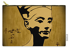 Nefertiti Egyptian Queen Carry-all Pouch