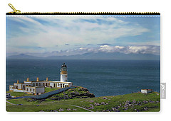 Neist Point Lighthouse Carry-all Pouch by Anthony Dezenzio