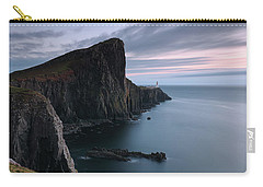 Neist Point Sunset - Isle Of Skye Carry-all Pouch by Grant Glendinning