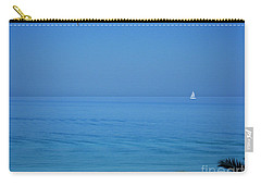 Carry-all Pouch featuring the photograph ...nel Blu Dipinto Di Blu by Mariarosa Rockefeller