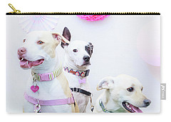 Nellie, Bella And Duke Carry-all Pouch