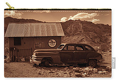 Nelson Chrysler - Sepia Carry-all Pouch