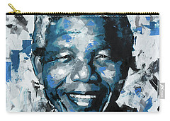 Carry-all Pouch featuring the painting Nelson Mandela II by Richard Day