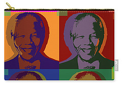 Nelson Mandela Pop Art Carry-all Pouch