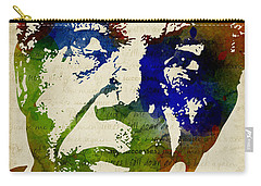 Nelson Mandela Watercolor Carry-all Pouch