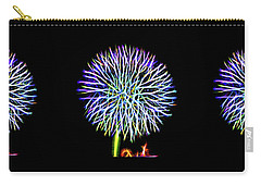 Neon Dandelion X Three Carry-all Pouch by Aliceann Carlton