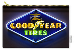 Neon Goodyear Tires Sign Carry-all Pouch
