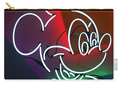 Neon Mickey Carry-all Pouch