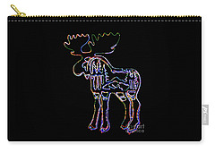Neon Moose Carry-all Pouch