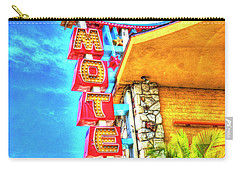 Neon Motel Sign Carry-all Pouch by Jim and Emily Bush