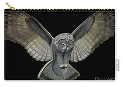 Neon Owl Carry-all Pouch