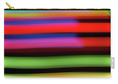 Neon Stripe Carry-all Pouch