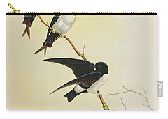 Nepal House Martin Carry-all Pouch by John Gould