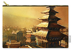 Nepal Temple Carry-all Pouch