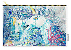 Neptune's Horses Carry-all Pouch by Melinda Dare Benfield