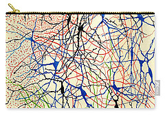 Nerve Cells Santiago Ramon Y Cajal Carry-all Pouch