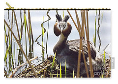 Nesting Grebe Carry-all Pouch