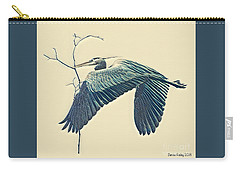 Nesting Heron Carry-all Pouch