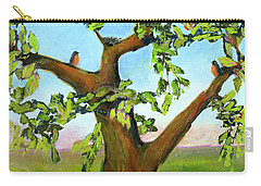 Nesting Tree Carry-all Pouch by Blenda Studio