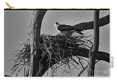 Carry-all Pouch featuring the photograph Nesting V2 by Douglas Barnard