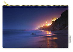 Netanya Beach At Night Carry-all Pouch