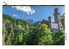 Carry-all Pouch featuring the photograph Neuschwanstein Castle by David Morefield