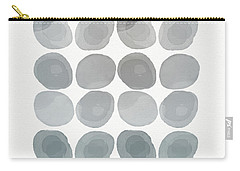 Neutral Stones- Art By Linda Woods Carry-all Pouch by Linda Woods